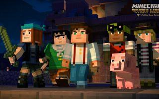 Análisis: Minecraft Story Mode Capítulo 1 – La orden del cerdo