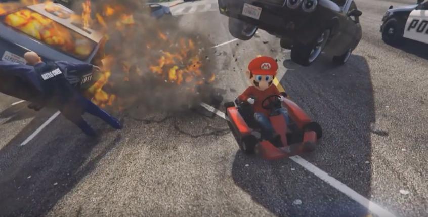 Mario-Kart-GTA-V